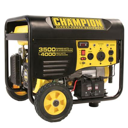 Champion 4000 Watt Portable Generator with Remote Start