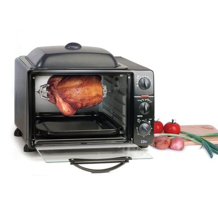 Toaster Oven Broiler with Rotisserie, Oven-Top Grill & Griddle