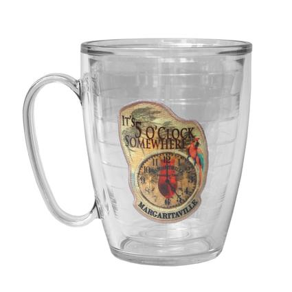 Margarita Clock Mug, 15 oz