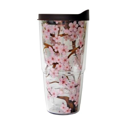Tervis Tumbler 24oz - Cherry (Includes Lid)