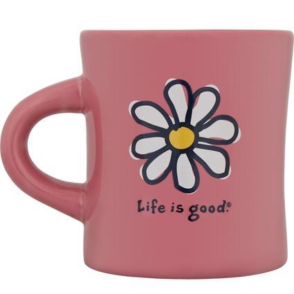 Diner Mug, 12 oz- Fresh Pink