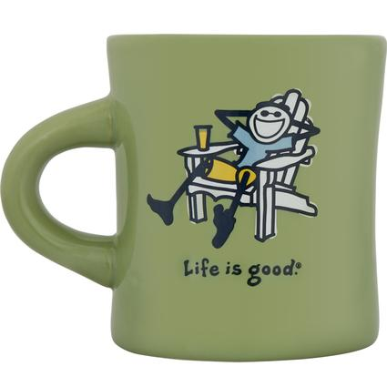 Diner Mug, 12 oz- Sprout Green