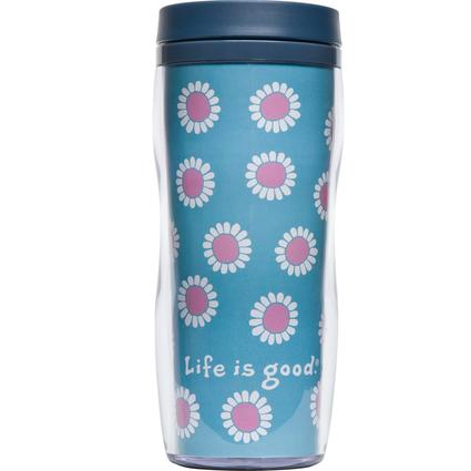 Acrylic Travel Mug, 16 oz.- Beach House Blue