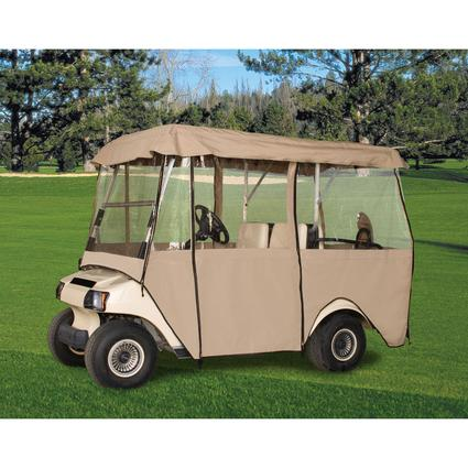 Deluxe 4-Sided Golf Cart Enclosure