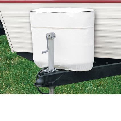 RV Tank Cover - White, Fits Double 20 / 5 gallon