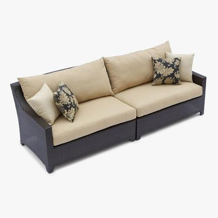 Delano Sofa Set Patio Furniture