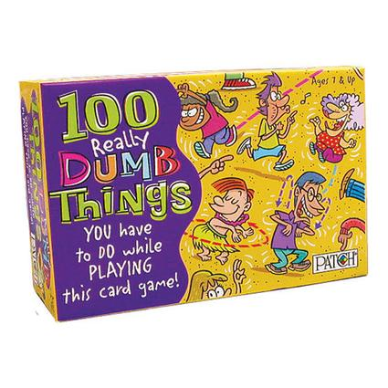 100 Wacky Things Game