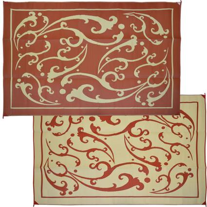 Vine 9' x 12' Patio Mats - Terracotta