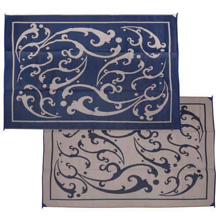 Vine 9' x 12' Patio Mats - Blue