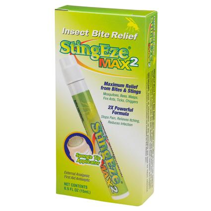 StingEze Max2 Insect Bite Relief, 0.5 oz.