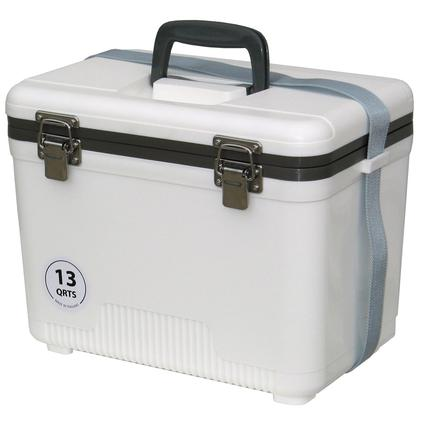 13 Qt. Cooler/Dry Box - White
