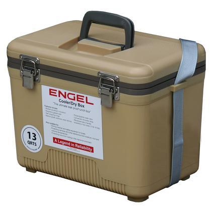 13 Qt. Cooler/Dry Box - Tan