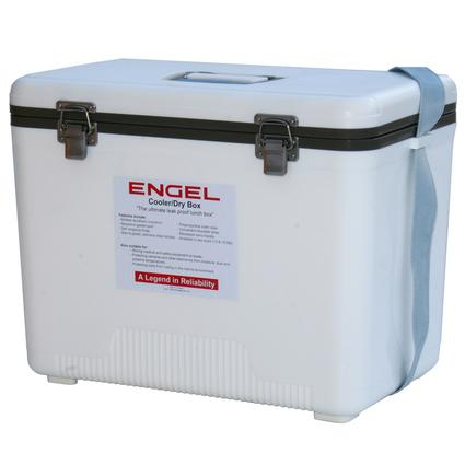 30 Qt. Cooler/Dry Box - White
