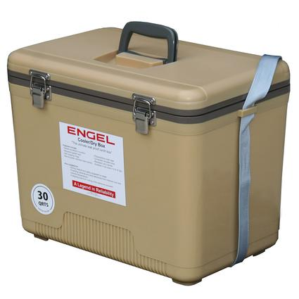 30 Qt. Cooler/Dry Box - Tan