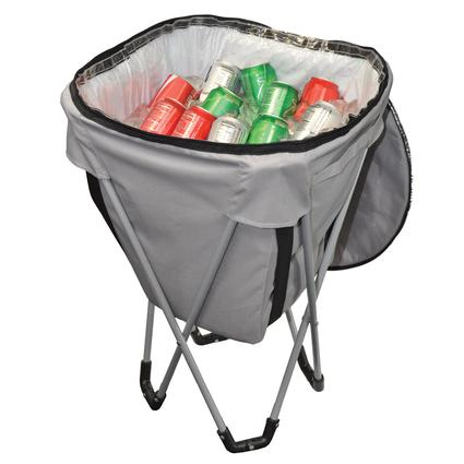 Folding Party Cooler and Stand