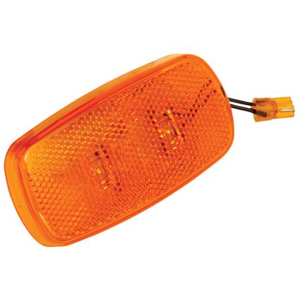 LED Upgrade Kits for Clearance/Side Marker Lights #59 Series with Reflex Lens- Amber