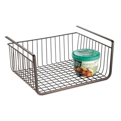 Undershelf Pantry Basket- Bronze