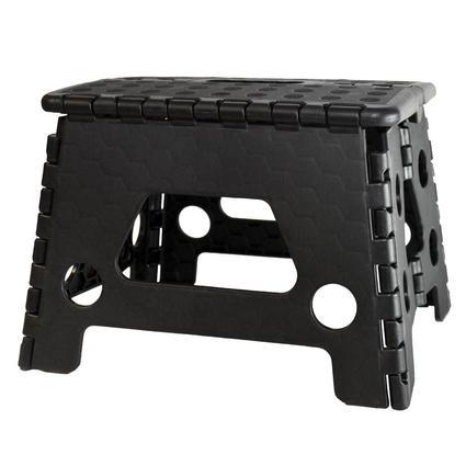 Black Fold Flat Step - 8.6 Inch
