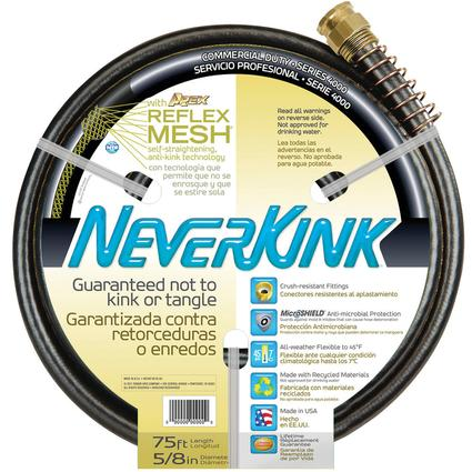 "NeverKink Commercial-duty Hoses - 100'L x 5/8"" dia."