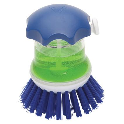 Push Button Scrubber