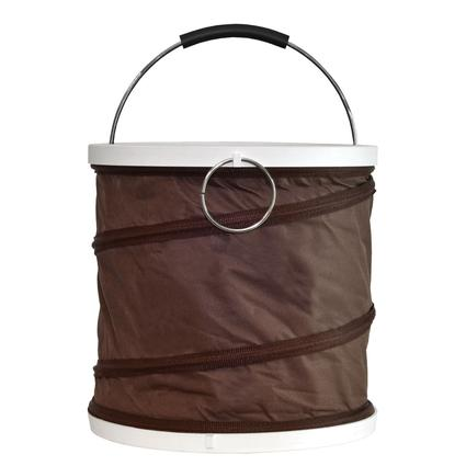 Collapsible Ice Buckets - Brown
