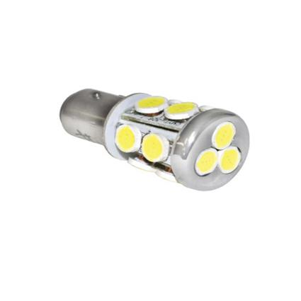 LED Replacement Multidirectional Radial Tower Bulb with Single Contact. - Warm White