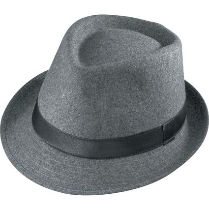 Gentleman Wool Hat- Gray Large