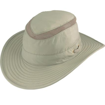 Vented Ten Point Hat- Tan, Medium