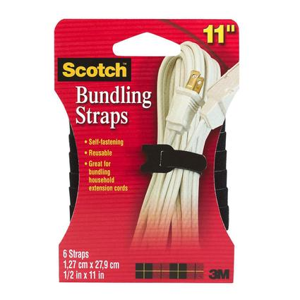 Scotch Bundling Straps - 6 Pack