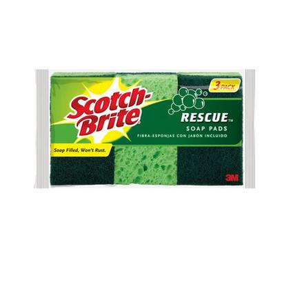 Scotch-Brite Rescue Soap Pads - 3 Pack