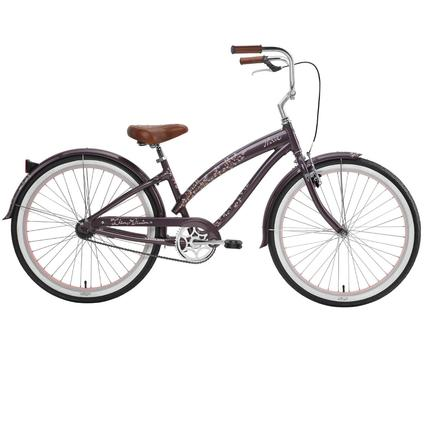 "Nirve Cherry Blossom Women's 26"" 1-Speed Bike"