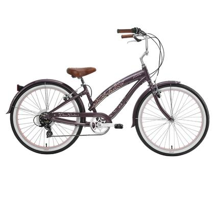 "Nirve Cherry Blossom Women's 26"" 7-Speed Bike"
