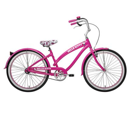 "Nirve Hello Kitty Classic 1-Speed 24"" Bike"