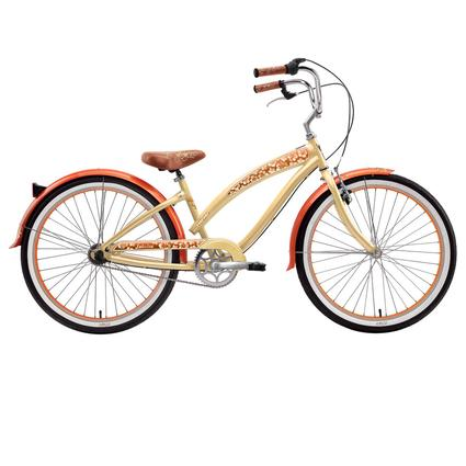 "Nirve Lahaina Women's 3-Speed 26"" Bike, Cocoa Butter"