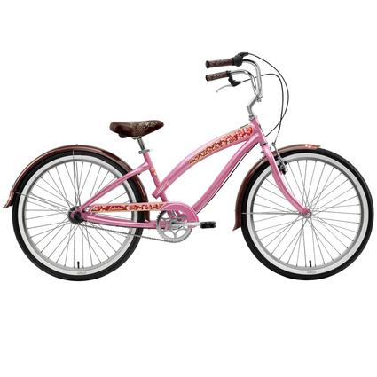 "Nirve Lahaina Women's 3-Speed 26"" Bike, Pink Pearl"