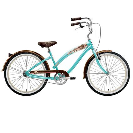 "Nirve Island Flower Women's 24"" 1-Speed Bike"