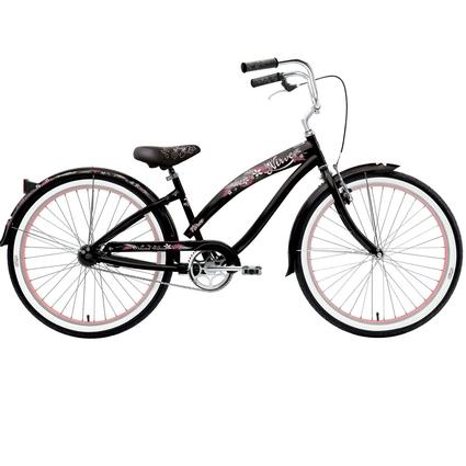 "Nirve Island Flower Women's 26"" 1-Speed Bike"