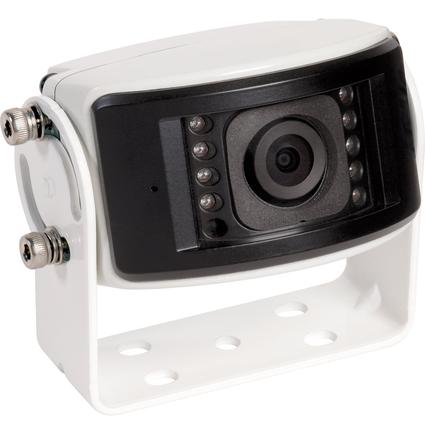 Wide View CCD Color Observation Camera- White