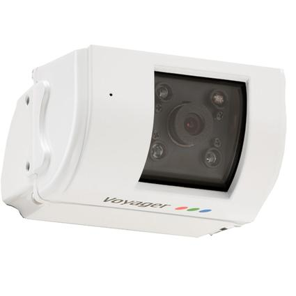 Rear Color Tilt Observation Camera, White