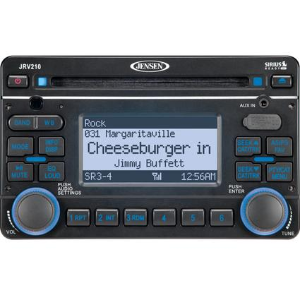 Jensen AM/FM/WX/CD/Satellite-Ready Stereo