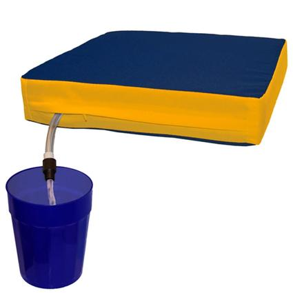 The Sippin' Seat- Blue/Gold