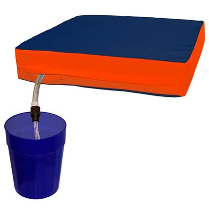 The Sippin' Seat- Navy/Orange