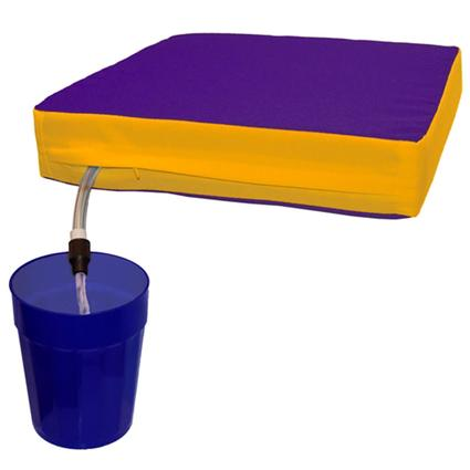 The Sippin' Seat- Purple/Gold
