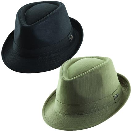 Slub Cotton Fedora