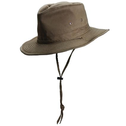 Cotton Outback Hat- Bronze