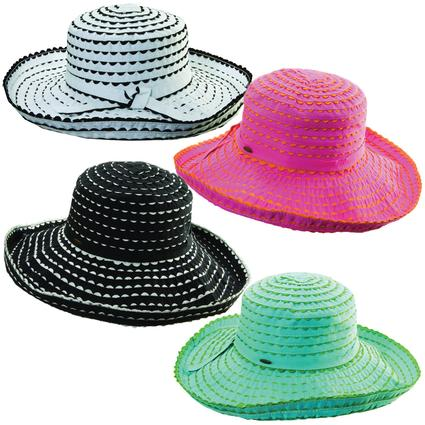 Cotton Ric Rac Sun Hat