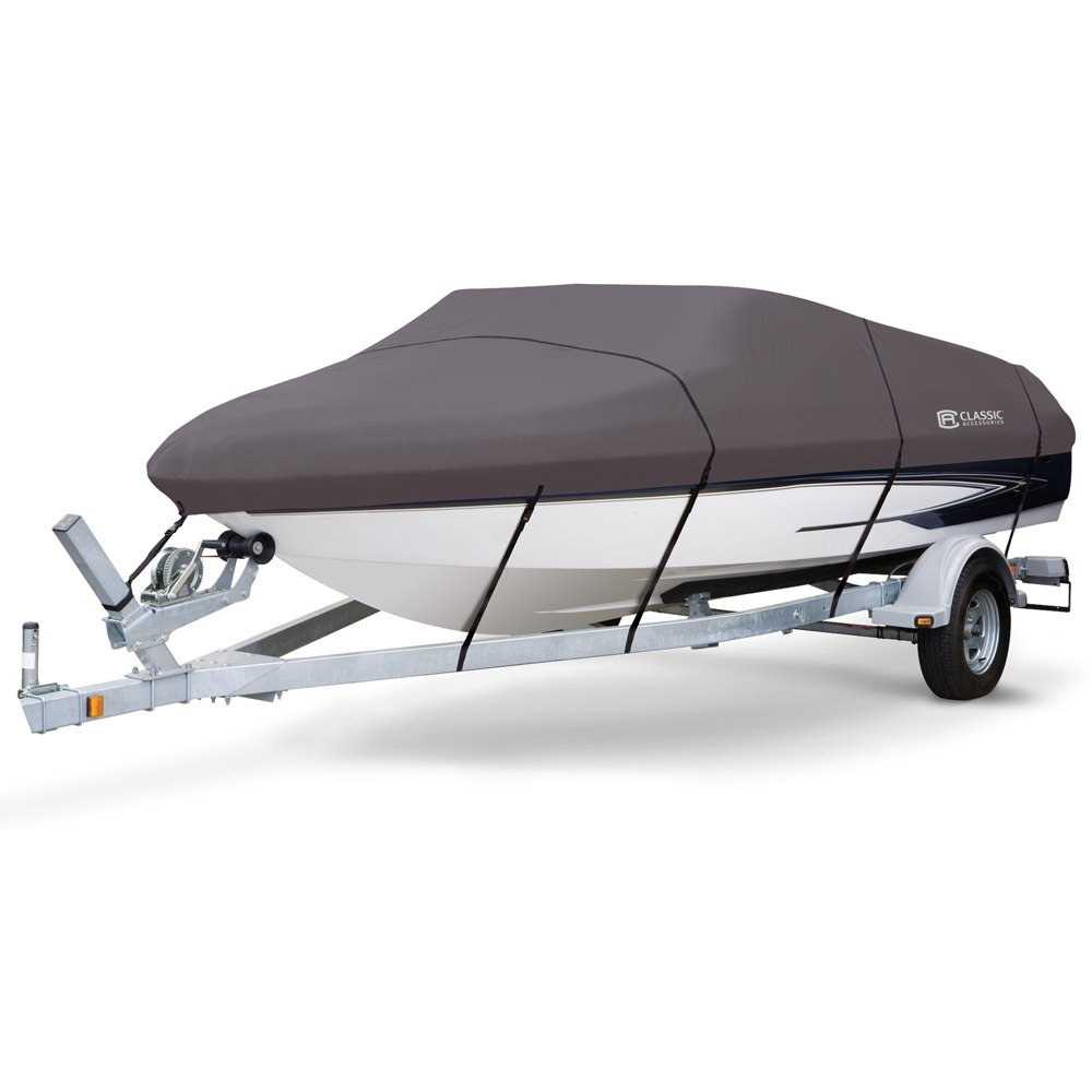 Stormpro Boat Covers Fits 17 19 V Hull Boats With Beam Width To Polar Wiring Harness 102 Classic Accessories 88948 Camping World