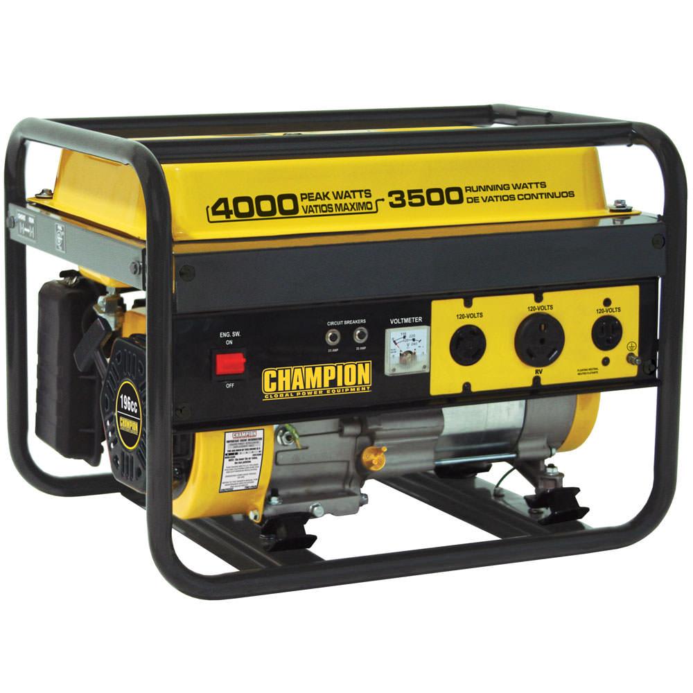 Champion 4000 Watt Portable Generator 49 State Model Circuit Breaker Jacks Is Your Place We Have The Generators 46596 Camping World