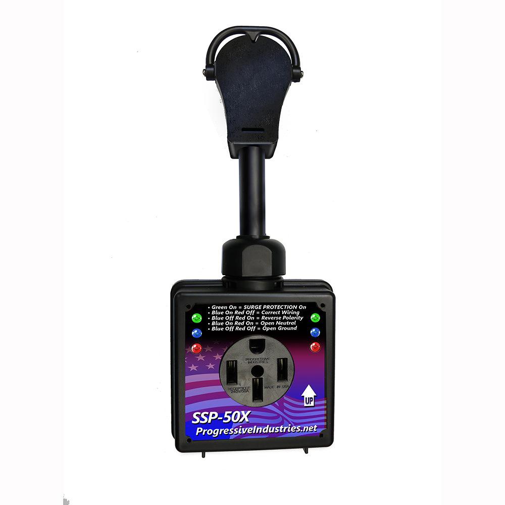 Smart Rv Surge Protector 50 Amp Progressive Ssp50x Plug Wiring Size Protectors Camping World