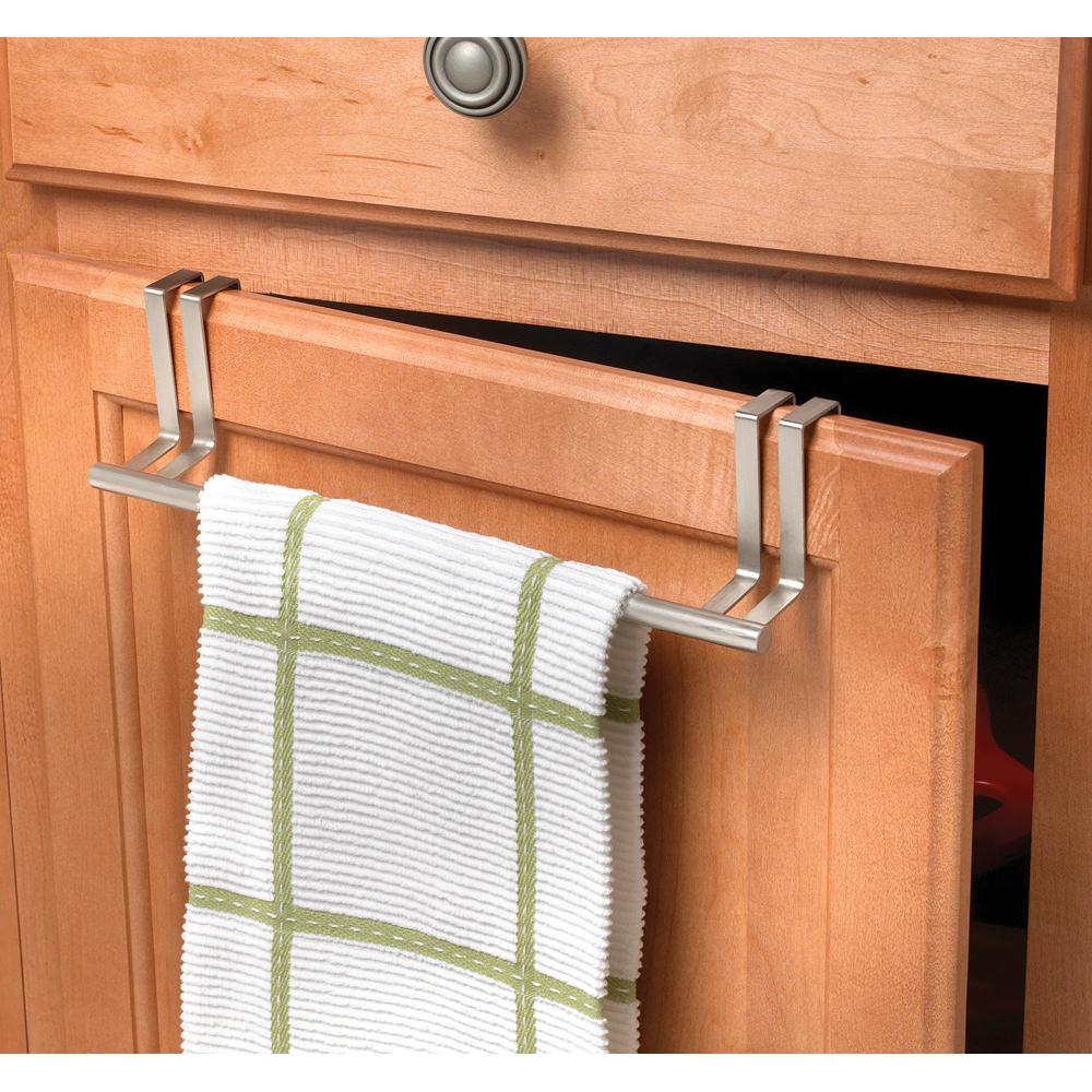 Merveilleux Brushed Nickel Over Door Towel Bar   Spectrum Diversified Designs 76471    Racks, Hooks U0026 Holders   Camping World